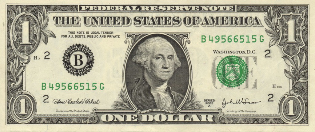 federal-reserve-note-one-USD-1-united-states-dollar-george-washington
