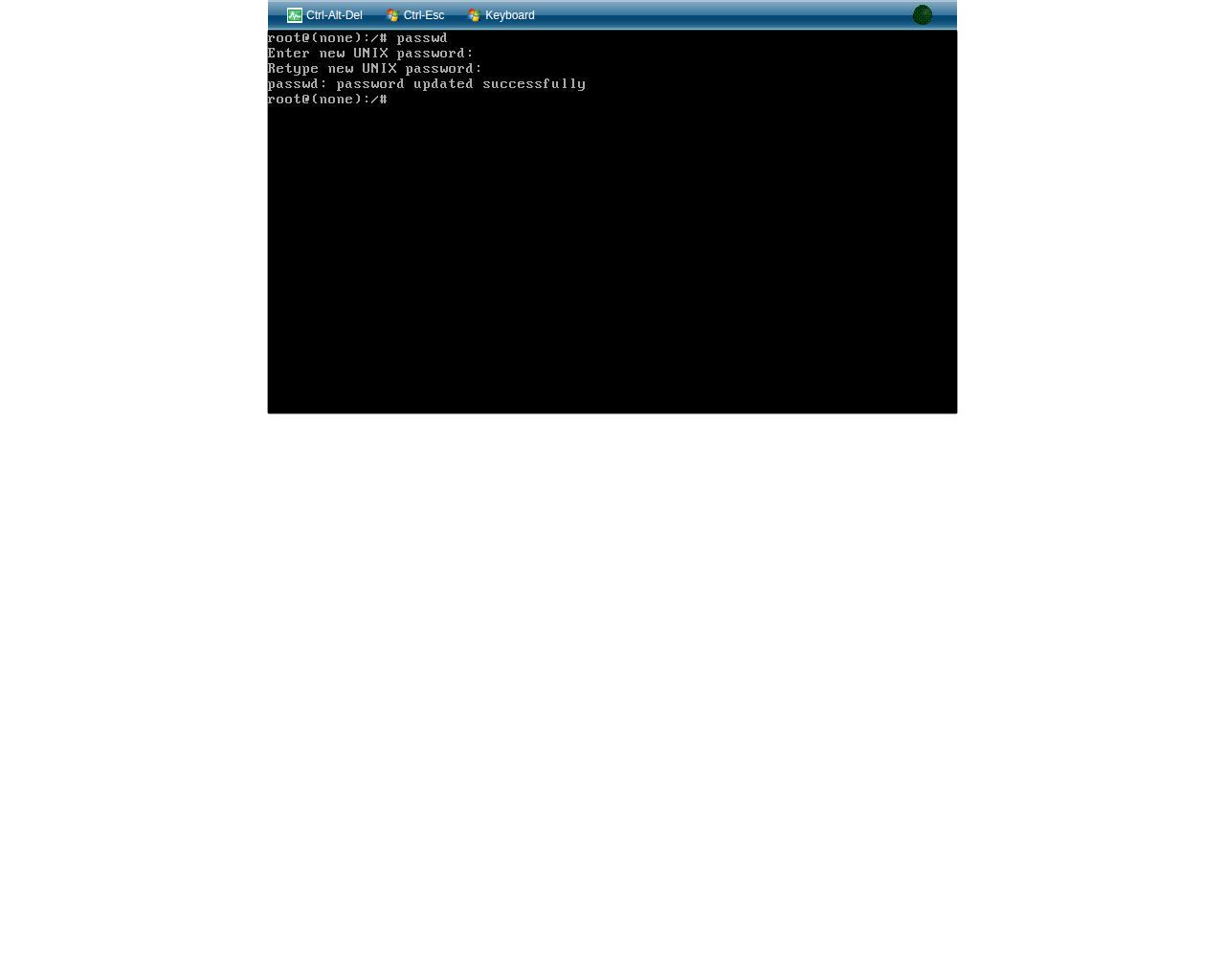 Сброс пароля root пользователя