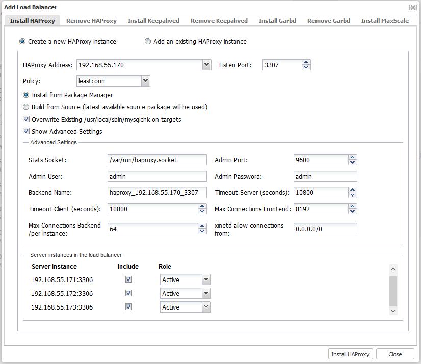 Балансировка нагрузки кластера MySQL с помощью HAProxy | Блог NetPoint